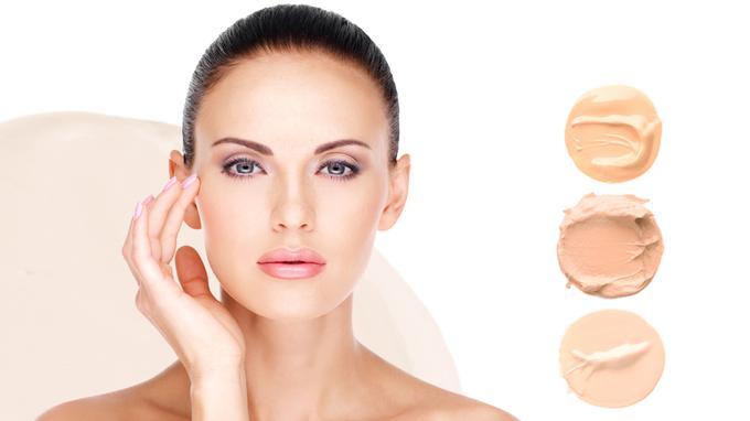 что подойдет на сухую кожу лица пудра или крем тональный